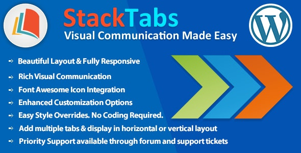 StackTabs for WordPress - CodeCanyon Item for Sale