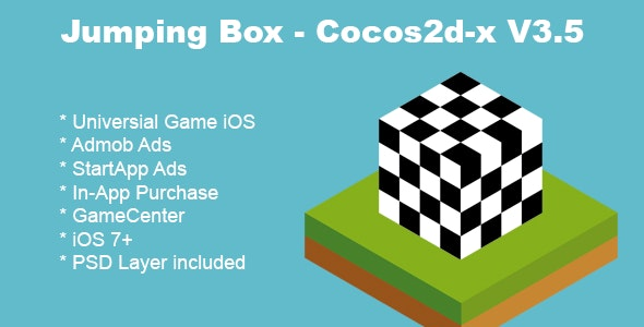 Jumping Box Cocos2d-x V3.5 - CodeCanyon Item for Sale