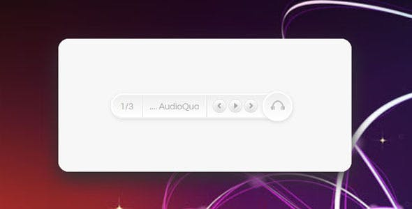 HTML5 Music Player with 3 CSS3 Skins