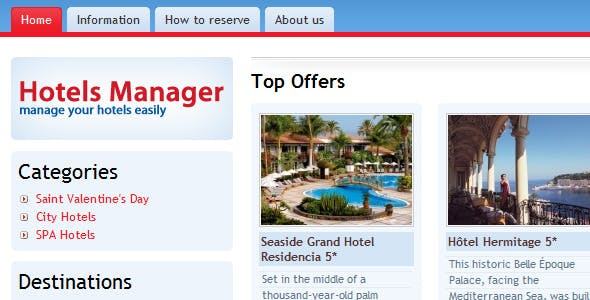 Hotels Management and Reservation Platform