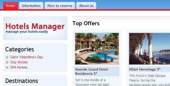 Hotels Management and Reservation Platform - CodeCanyon Item for Sale