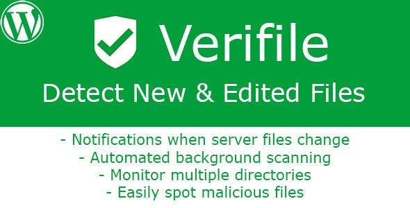 [WP] Verifile - Detect New & Edited Files