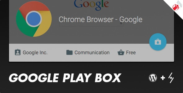 Google Play Box - Review boxes maker for WordPress - CodeCanyon Item for Sale