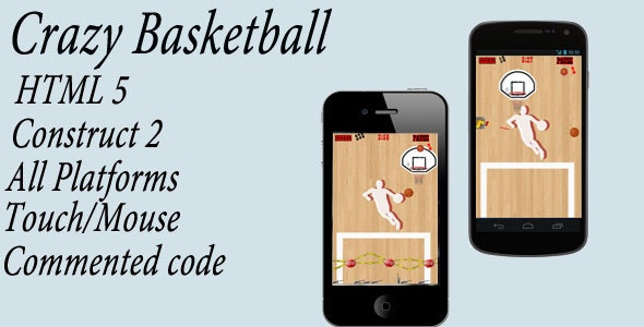 Crazy Basketball - CodeCanyon Item for Sale