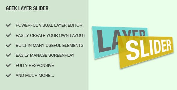 Geek Layer Slider Module