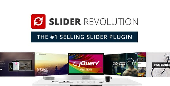 Slider Revolution Responsive jQuery Plugin        Nulled