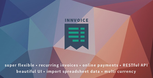 Innvoice - Flexible invoicing application with API - CodeCanyon Item for Sale