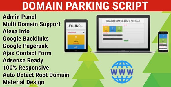 Domain Parking Script with Multi Domain Support