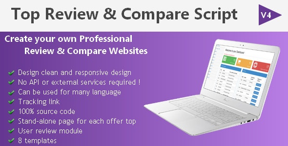 Top Review & Comparison Script - CodeCanyon Item for Sale