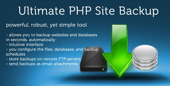 Ultimate PHP Site Backup v2.3