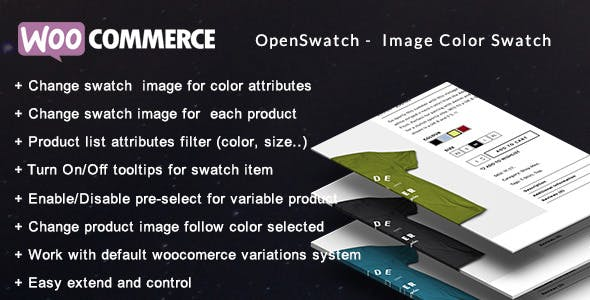 Openswatch - Woocommerce variations image swatch