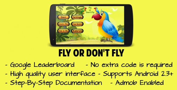 Fly or Don't Fly - CodeCanyon Item for Sale