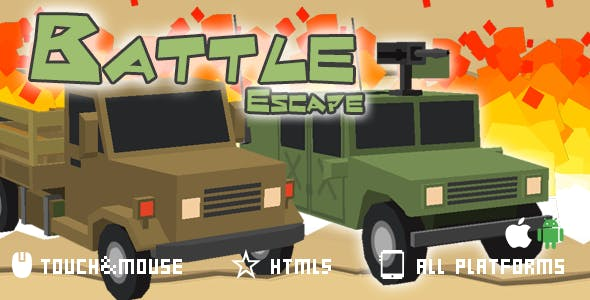 Battle Escape-html5 mobile game