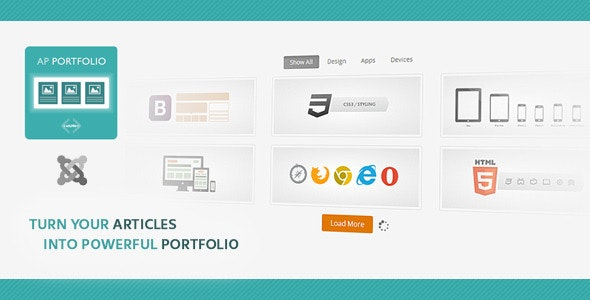 AP Portfolio - Ajax Portfolio Module - CodeCanyon Item for Sale