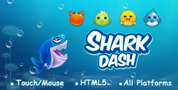 Shark Dash - CodeCanyon Item for Sale