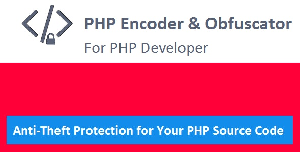 PHP Encoder & Obfuscator - CodeCanyon Item for Sale