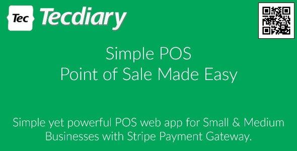 Simple POS - Point of Sale Made Easy - CodeCanyon Item for Sale