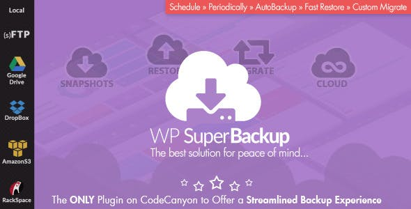Super Backup & Clone - Migrate for WordPress        Nulled