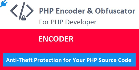 Encoder PLUGIN for PHP Encoder & Obfuscator