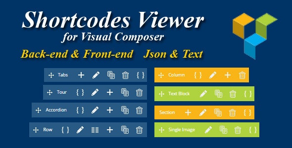 Visual Composer - Shortcode Viewer - CodeCanyon Item for Sale