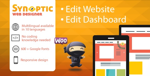 Synoptic Visual Designer: best website design tool - CodeCanyon Item for Sale