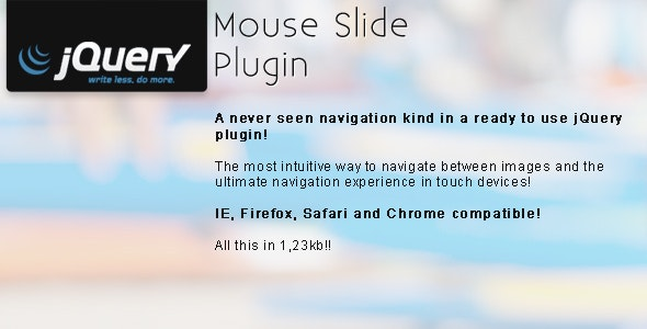 jQuery Mouse Slider - CodeCanyon Item for Sale