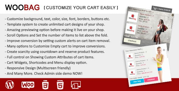 WooBag - Customize Your Cart Easily
