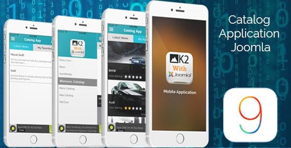 Catalog App iOS