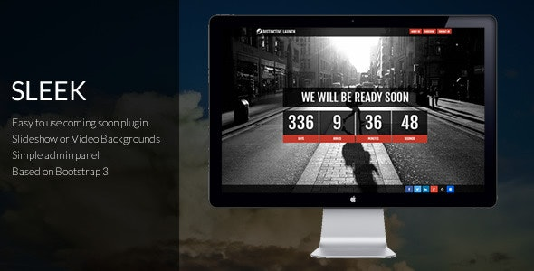 Distinctive Launch Sleek - Coming Soon Plugin  - CodeCanyon Item for Sale