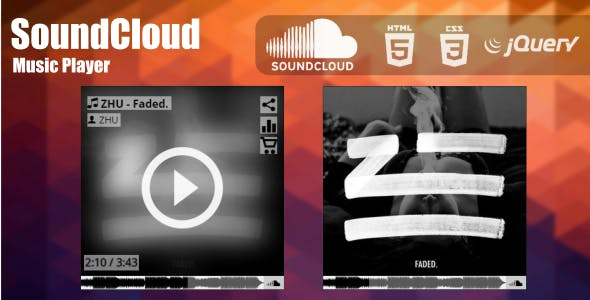 SoundCloud Music Player (jQuery)