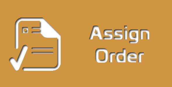 Magento Assign Order