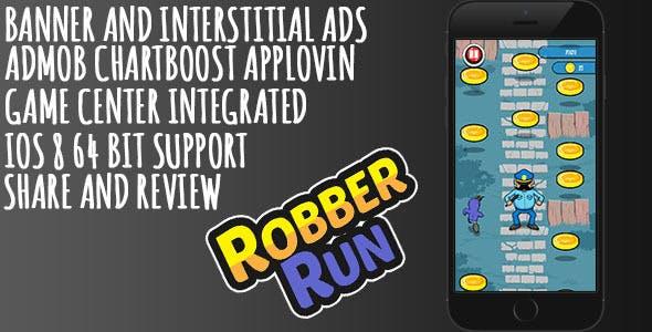 Robber Run + IAP + Game Service