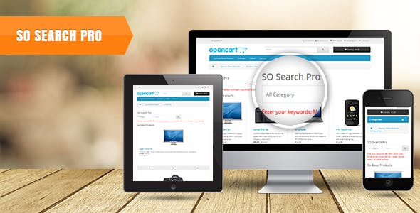SearchPro - Advanced Smart Search Module for OpenCart 3 & 2.3.x