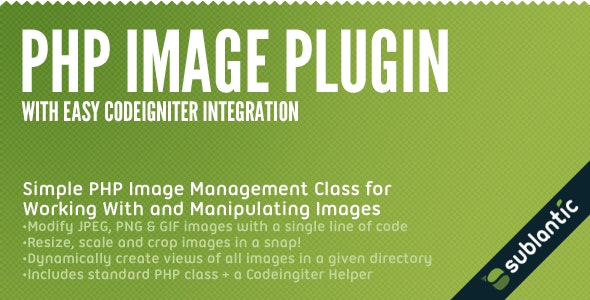 PHP Image Plugin - CodeCanyon Item for Sale