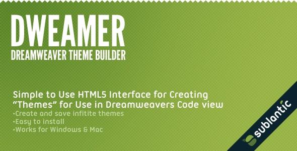 Dweamer - Dreamweaver Theme Builder - CodeCanyon Item for Sale