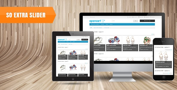 So Extra Slider - Responsive OpenCart 3.0.x & OpenCart 2.x Module - CodeCanyon Item for Sale