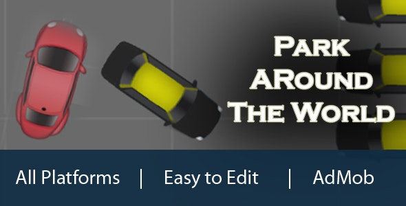 Parking Around The World: HTML5 Parking Game - CodeCanyon Item for Sale