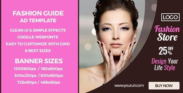 Fashion Sales - GWD HTML5 Ad Banners