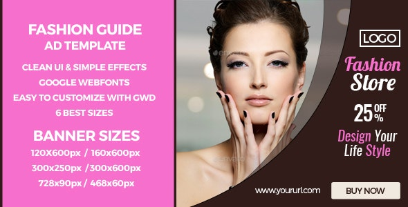 Fashion Sales - GWD HTML5 Ad Banners - CodeCanyon Item for Sale