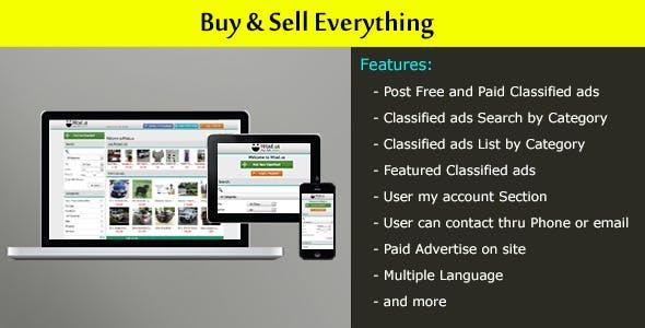 Local Classified Ads Website