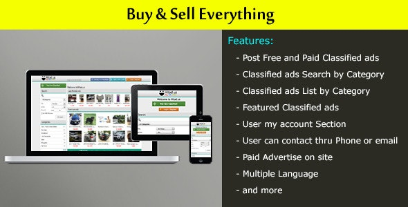 Local Classified Ads Website by skdsns | CodeCanyon