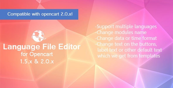 Language File Editor - CodeCanyon Item for Sale