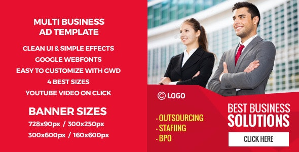 Business Solutions-HTML5 GWD Banners - CodeCanyon Item for Sale