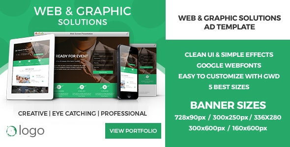 Slide Change - GWD HTML5 Ad Banners - CodeCanyon Item for Sale