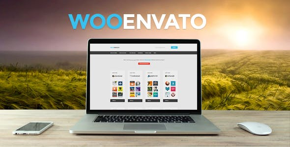 Woocommerce Envato Affiliates - Wordpress Plugin