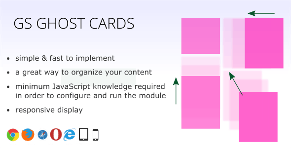 GS Responsive Ghost Cards