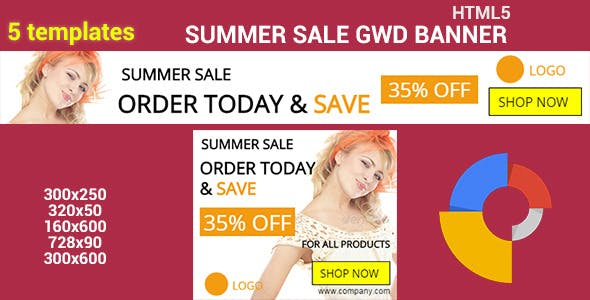 HTML5 GWD Summer Sale - 09