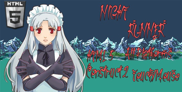 Night Runner (HTML5) - CodeCanyon Item for Sale