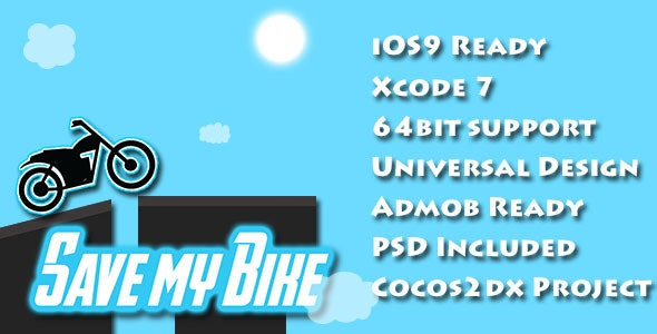 Save My Bike - The Game - iOS9  - CodeCanyon Item for Sale