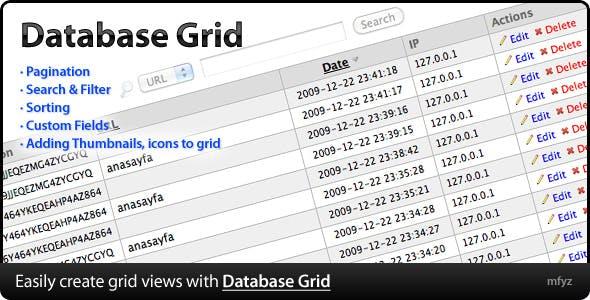 Database Grid